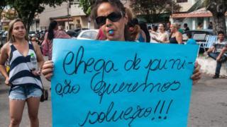 Brezilya asker protestosu