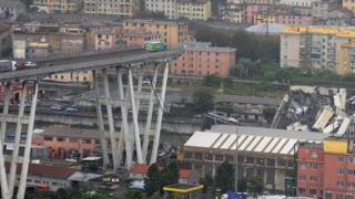 разрушенный мост Моранди