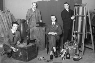 Sound engineers in 1927