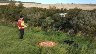 SARAA Scotland drone