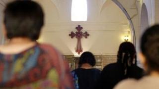 Cristãos oram