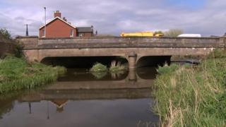 Botcherby Bridge on Warwick Road