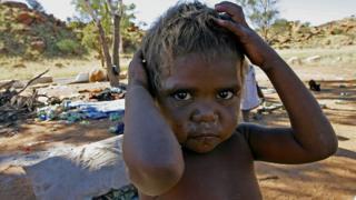 An Aboriginal Australian child