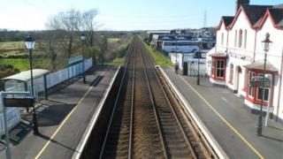 Llanfairpwll station
