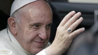 Папа Франциск в Кракове 27 июля 2016 года