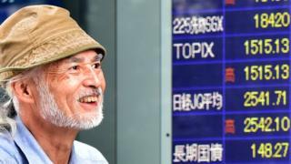 Man smiling at Nikkei