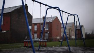 Swings in Gorton, Manchester