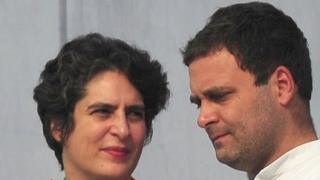 राहुल और प्रियंका