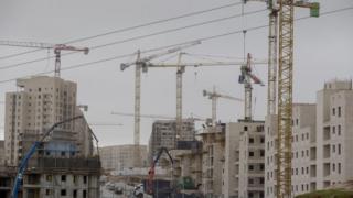 أعمال بناء استيطانية في محيط القدس