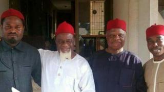 Chukwuemeka Ezeife na okenye ndị Igbo ụfọdụ