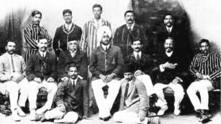 મે 1911માં ભારતીય ટીમ