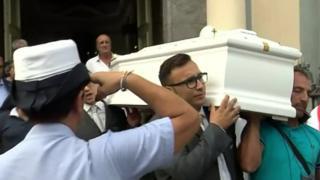 Tiziana Cantone funeral