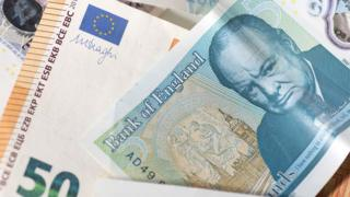 Sterling and euro notes
