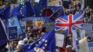 """демонстрації в Британії проти """"брекзиту"""""""