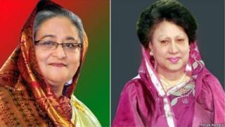 শেখ হাসিনা, খালেদা জিয়া