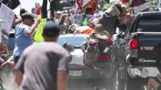 مظاهرة اليمين المتطرف فيشارلوت فيل الأمريكية