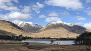 Loch Awe and Kilchurn Castle