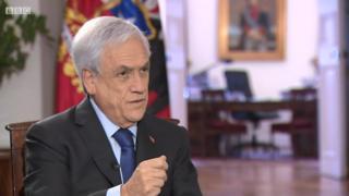 Protestos no Chile: presidente Sebastian Piñera diz à BBC que não renuncia, mas admite mudar Constituição da ditadura
