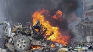 Mlipuko wa bomu Somalia uliowauawa zaidi ya watu 350