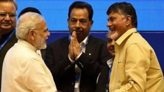 तेलुगू देसम पार्टी, भाजप, राष्ट्रीय लोकशाही आघाडी.