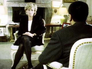Diana em entrevista à BBC