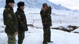 Кыргызстандын Чек ара кызматынын жетекчиси Мирбек Касымкулов