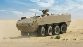 General Dynamics Piranha vehicle