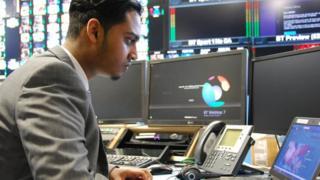 Naim Hamade, apprentice at BT