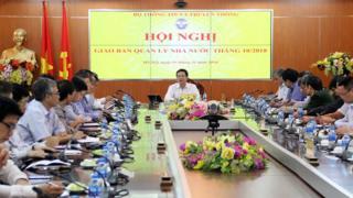 Bộ trưởng Nguyễn Mạnh Hùng phát biểu chỉ đạo Hội nghị của Bộ TT&TT