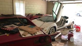 Lamborghini Countach ve Ferrari 308