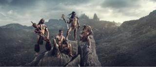 Hombres de las Islas Marquesas