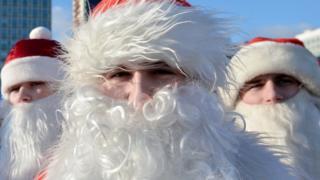 дед Мороз в Минске