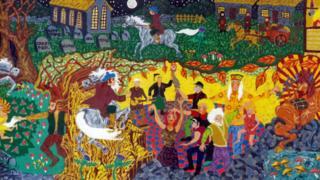 Tam O'Shanter painting