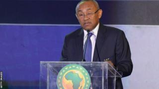 Confederation of African Football President Ahmad