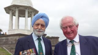 Jaimal Singh and Ian Henderson