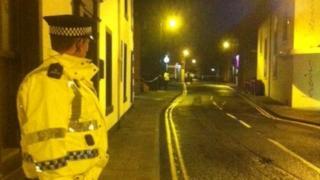 Montrose crime scene