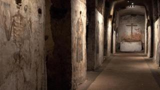 Katakomba San Gaudioso di Napoli