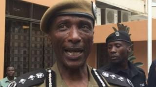 Inspekta mkuu wa polisi Uganda Kale Kayihura