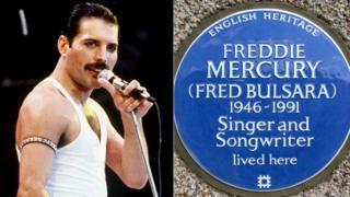 Freddie Mercury/Blue Plaque