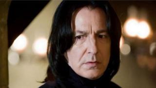 Photo of Alan Rickman as Professor Snape