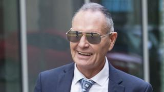 Paul Gascoigne train kiss trial: Ex-footballer breaks down in court