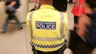 Officer for the British Transport police