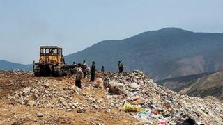 محل دفن زباله شهر آمل