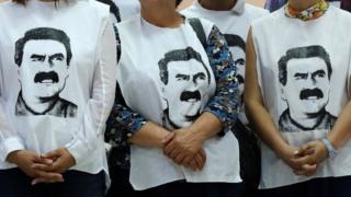 Öcalan'la görüşme talebi eylemi