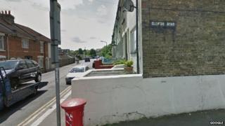 Corner of Magpie Hall Road and Glencoe Road