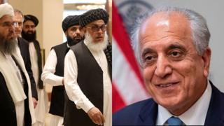 زلمی خلیلزاد او طالبان