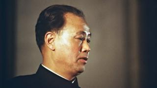 Picture dated 17 October 1980 in Beijing of Zhao Ziyang,