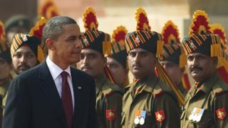 बराक ओबामा, भारत, अमेरिका