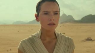 Rey, diperankan Daisy Ridley, kembali beraksi di The Rise of Skywalker