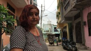 Sunita Devi oo arrintan ay cabsi ku abuurtay